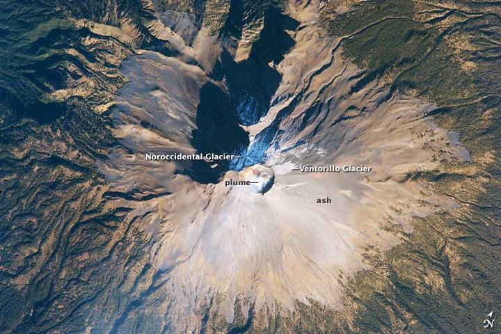 Summit of Popocatepetl Volcano, Mexico