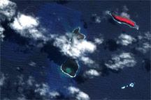 Submarine Eruption in the Tonga Islands
