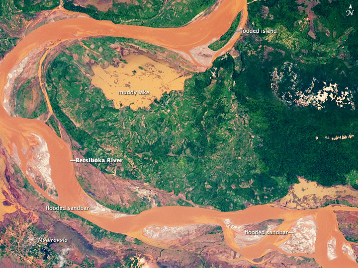 Betsiboka River Floods, Madagascar—January 2009