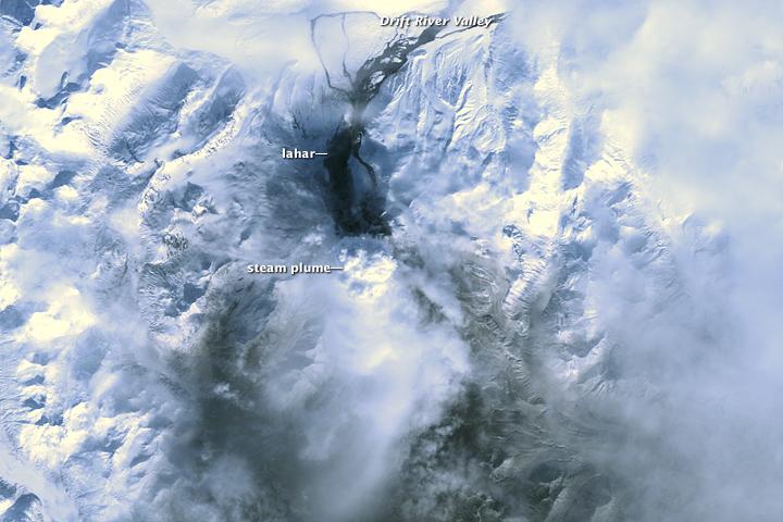 Mt. Redoubt Volcano, Alaska