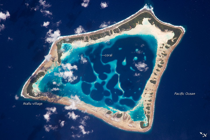 Atafu Atoll, Tokelau, Southern Pacific Ocean