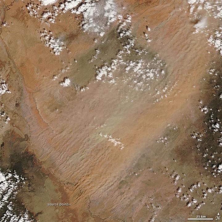 Dust Storm in Northeastern Arizona