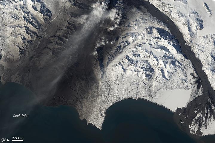 Ashfalls from Redoubt Volcano