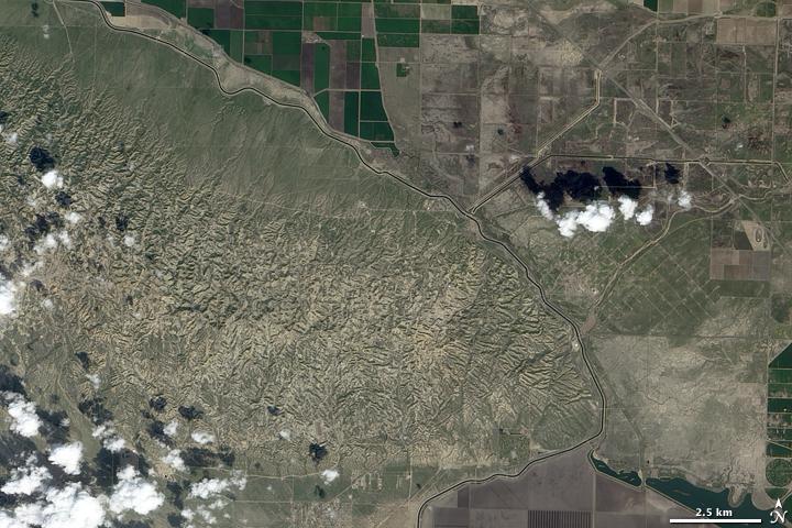 Elk Hills Oil Field, California