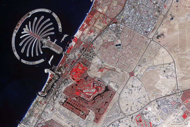 Urbanization of Dubai