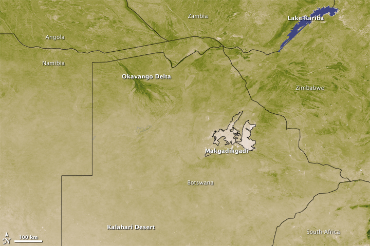 Kalahari and Okavango Delta