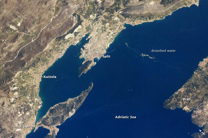 Dalmatian Coastline near Split, Croatia