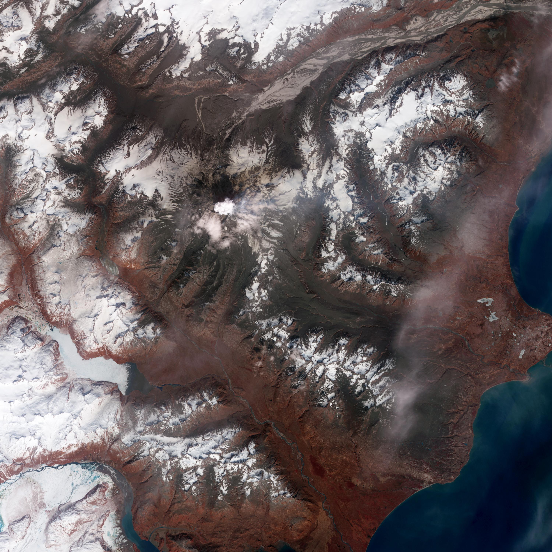 Извержение вулкана Редаут