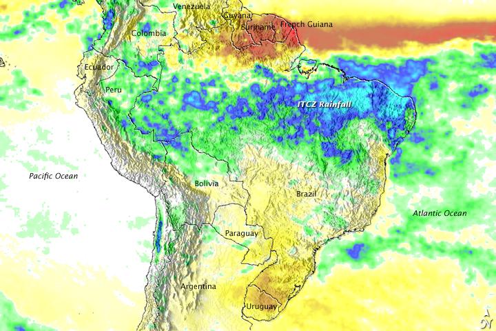 Heavy Rain Floods Brazil