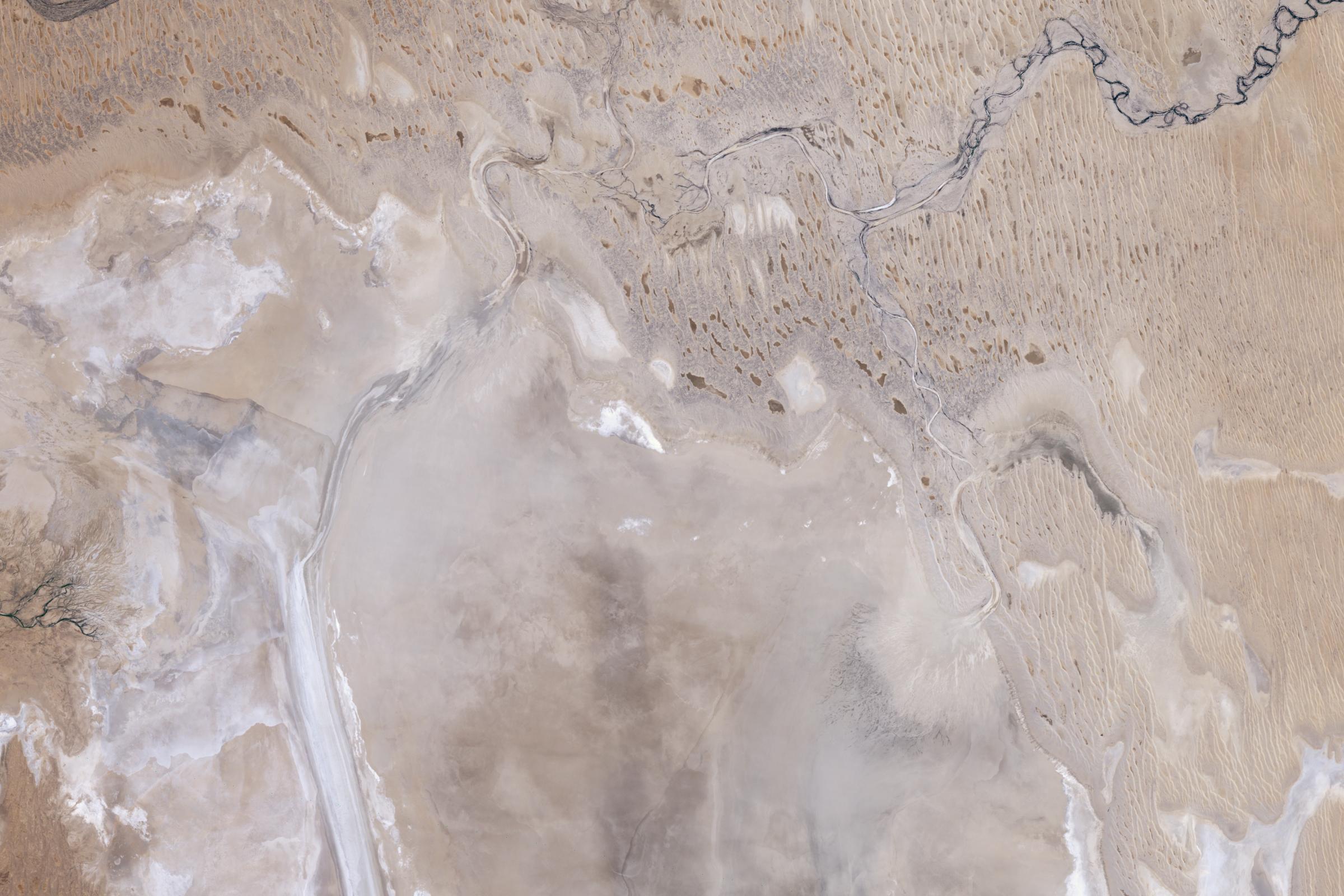 Rare Refill of Lake Eyre, Australia's Simpson Desert - related image preview