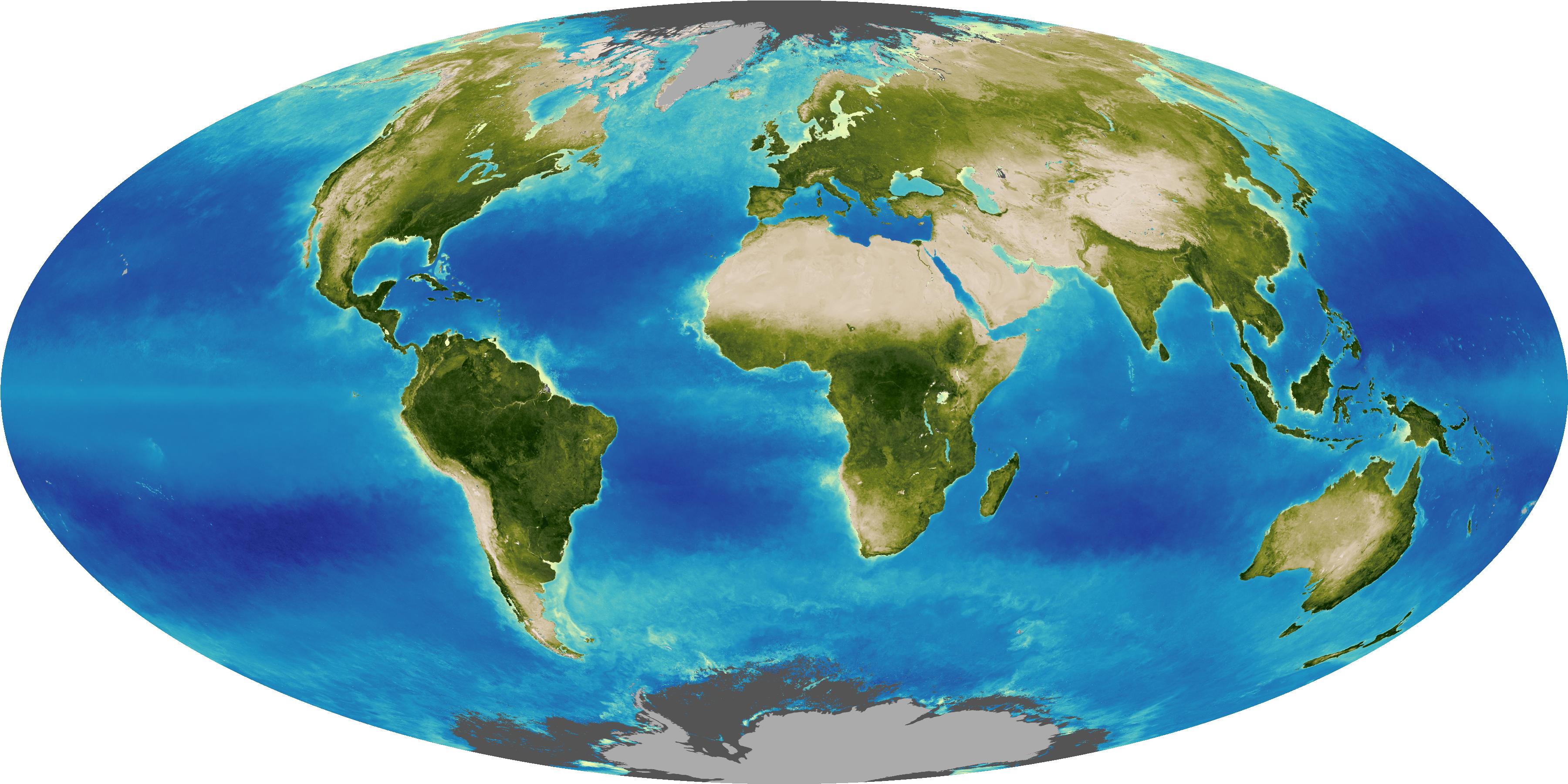 Nasa Visible Earth Global Biosphere