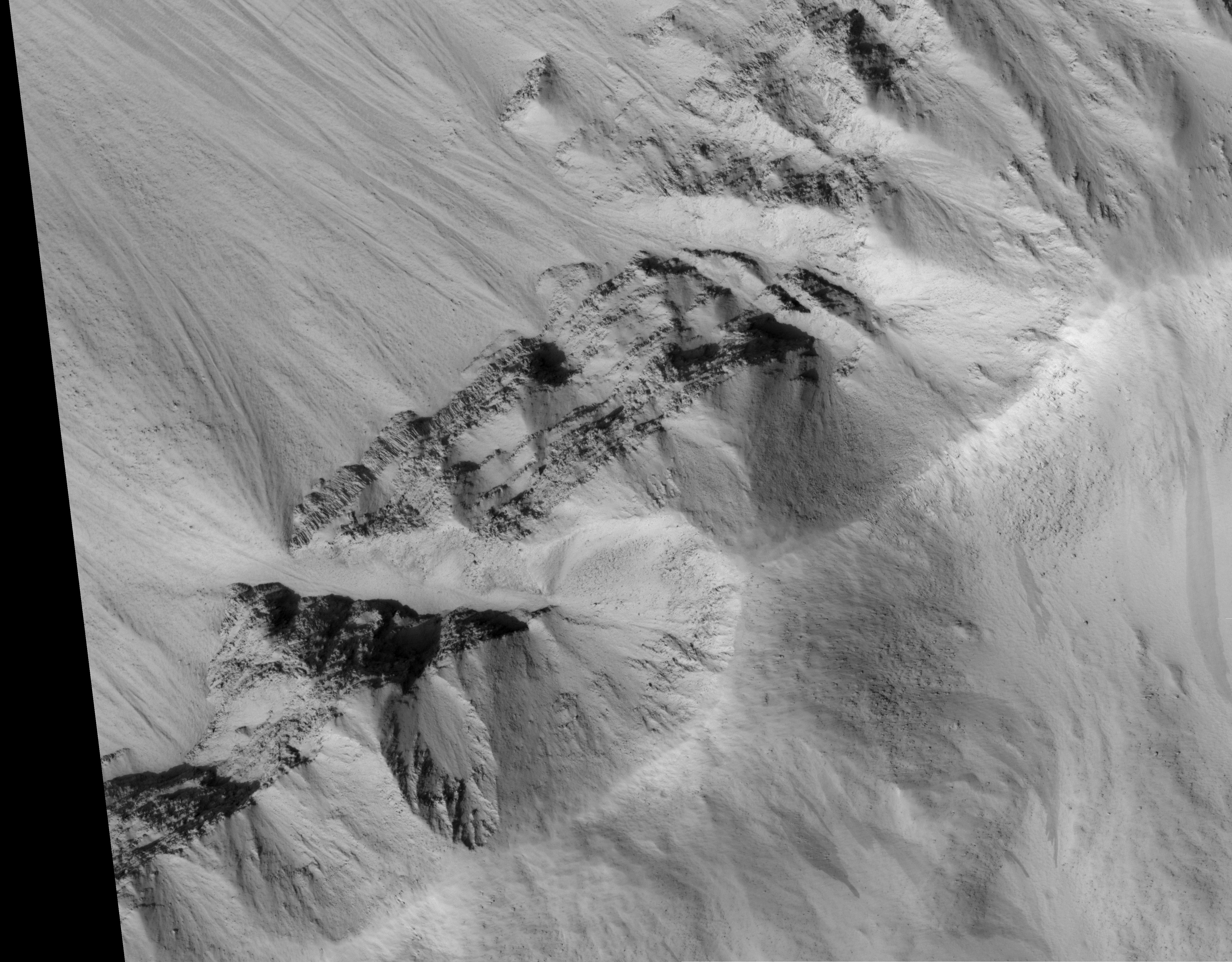 Mars and Earth: Columnar Jointing - related image preview