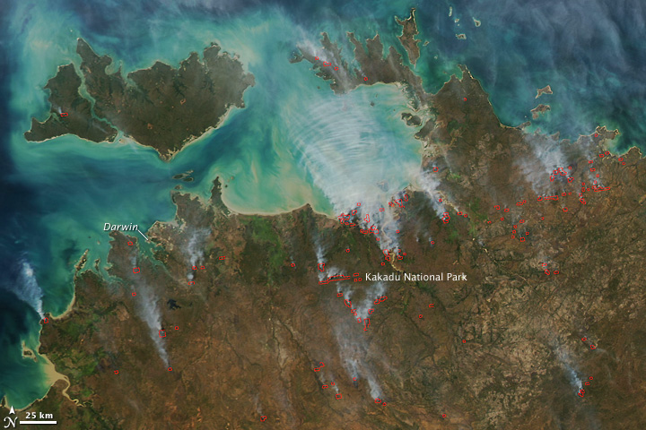 Map Of Australia Kakadu National Park.Fires In Australia S Kakadu National Park
