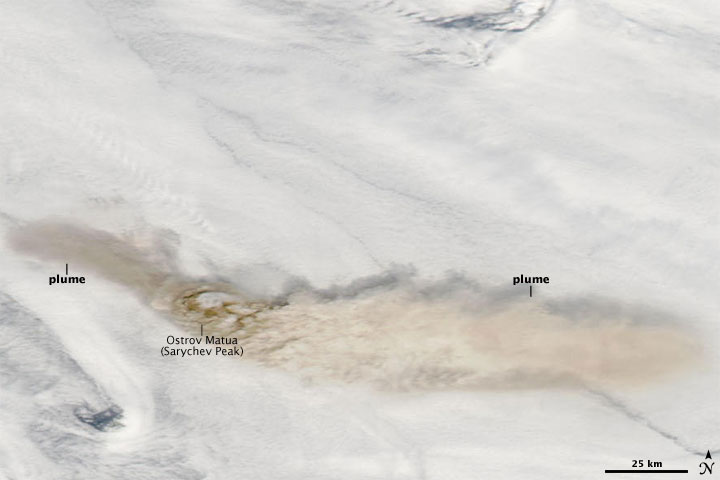 Activity at Sarychev Peak