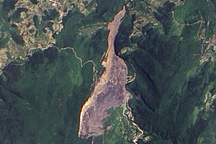 Landslide in Southern China