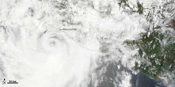 Tropical Storm Andres Briefly Becomes Hurricane