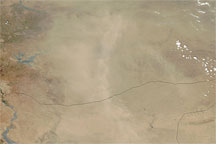 Dust Plumes over Turkey