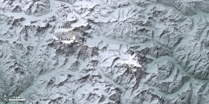 Himalayan Topography   Image Of The Day