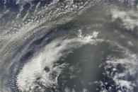Dust Plumes off the West Coast of Africa