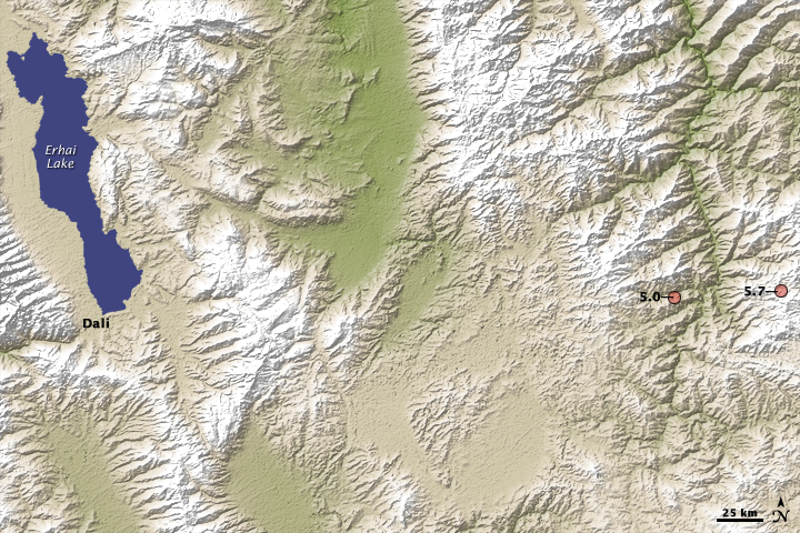 5.7 Magnitude Quake in Southern China