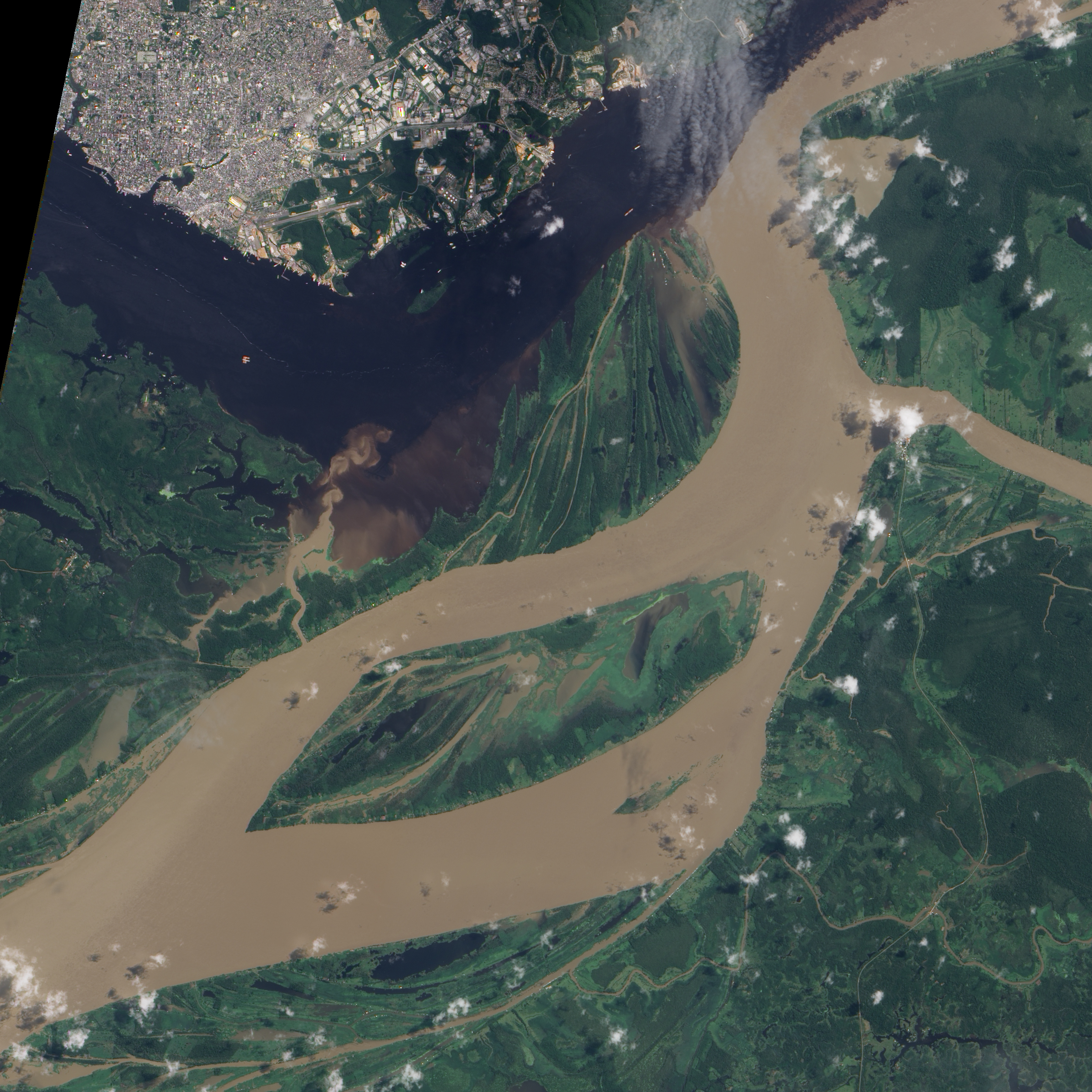 Manaus Brazil  city pictures gallery : Flooding near Manaus, Brazil : Natural Hazards