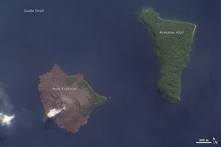 Volcanic Activity at Krakatau