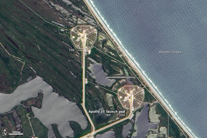 Apollo 11 Launch Pad : Image of the Day
