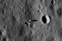 Apollo 11 Landing Site - selected image