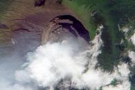 Plume from Nyiragongo