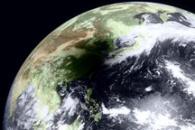 Eclipse Shadows Southeastern China