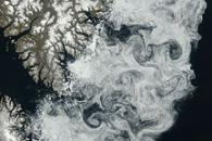 Sea Ice off Baffin Island