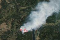 Wildfire At Okanagan Lake