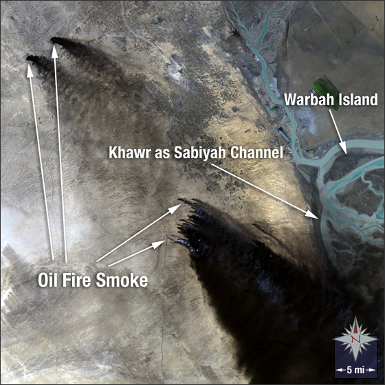 Kuwait Oil Fire - related image preview