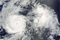 Hurricane Felicia and Tropical Storm Enrique