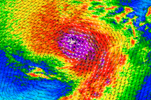 Hurricane Felicia - selected image
