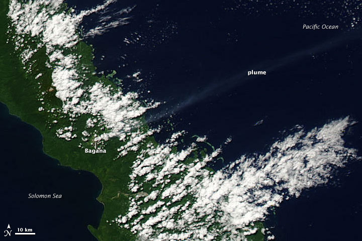 Plume from Bagana