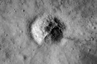 Fresh Craters on the Moon and Earth