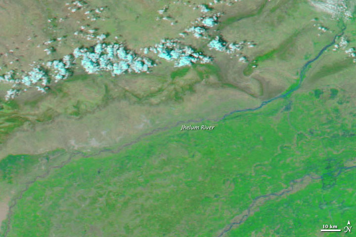 Floods in Northwestern Pakistan