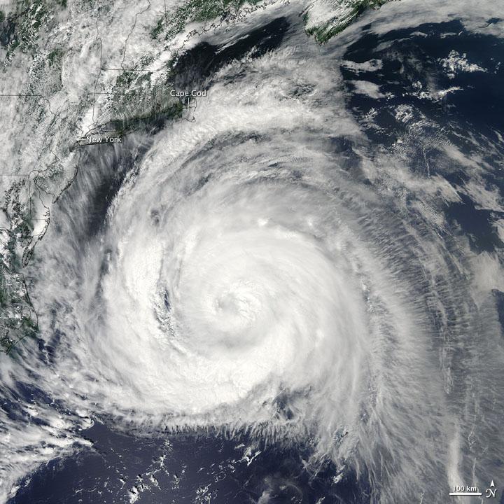 Hurricane Bill Skirts East Coast