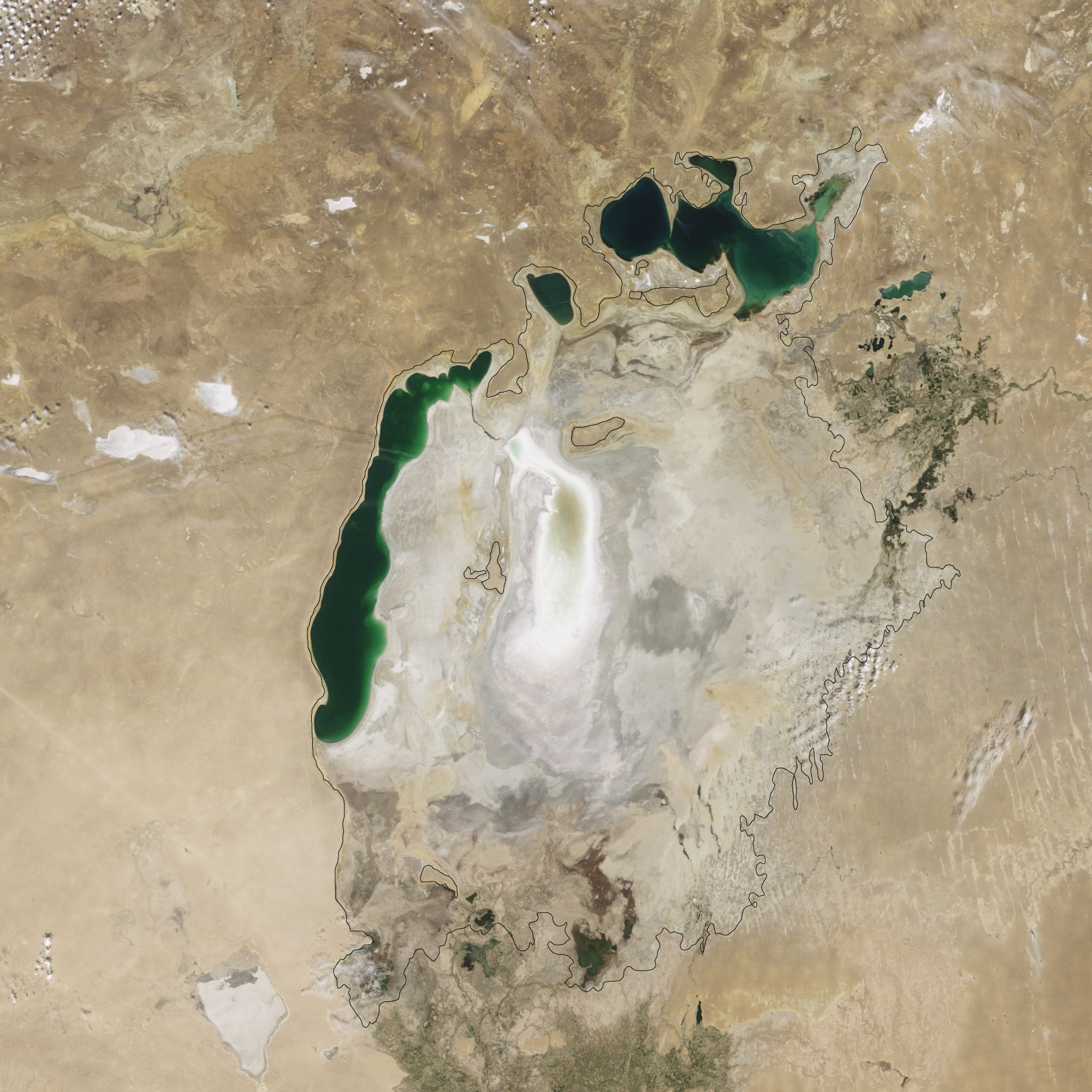 Aral Sea Continues to Shrink - related image preview