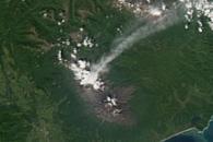 Activity at Koryaksky Volcano