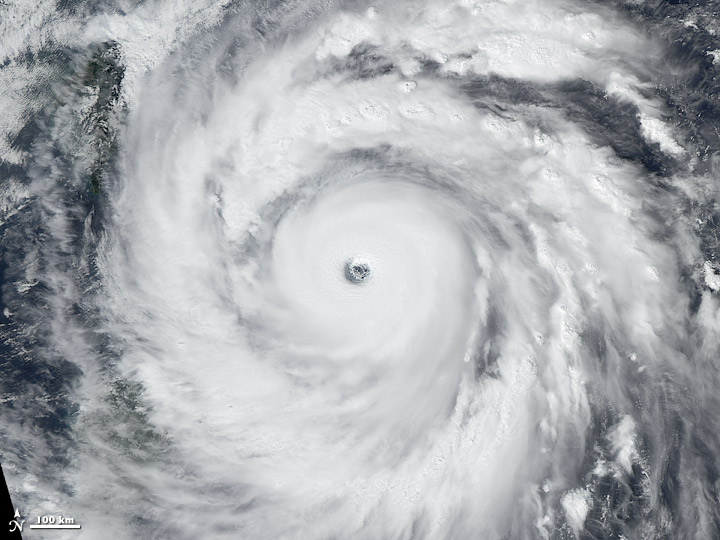 Strongest Storms Each Year This Decade: 2008, Super Typhoon Jangmi