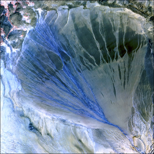 Alluvial Fan in Western China - related image preview