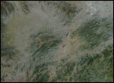 Fires and Haze in Southeastern China