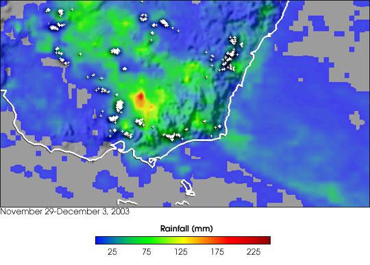 Severe Weather in Southeast Australia