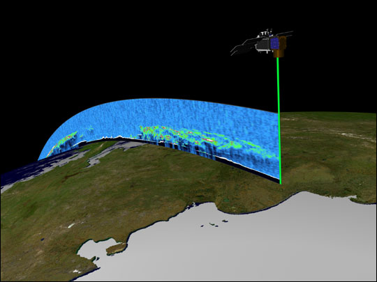 3-D Data from ICESat - related image preview