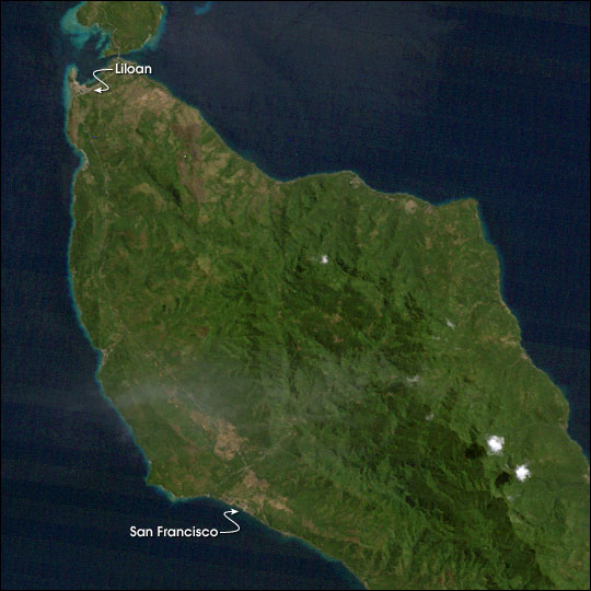 Landslides in the Philippines