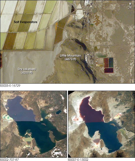 Effect of Drought on Great Salt Lake