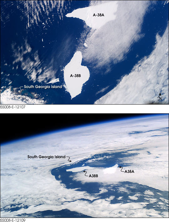 Five-Year-Old Icebergs near South Georgia Island - related image preview