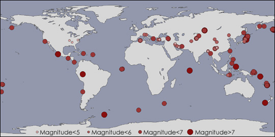 A Deadly Year for Earthquakes
